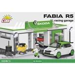 Cobi Bausteinset Skoda Fabia R5 Racing Garage 24573