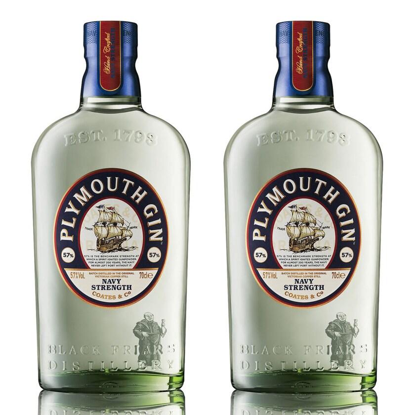 Plymouth Navy Strength Gin 57% 2x700 ml