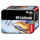 KOSMOS Detektive Die drei ??? UV-Lichtcode mit abnehmbarer UV-Lampe