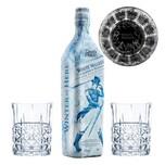 Game of Thrones Weiße Wanderer Set White Walker + 2 gravierte Whiskygläser 41.7% 700 ml