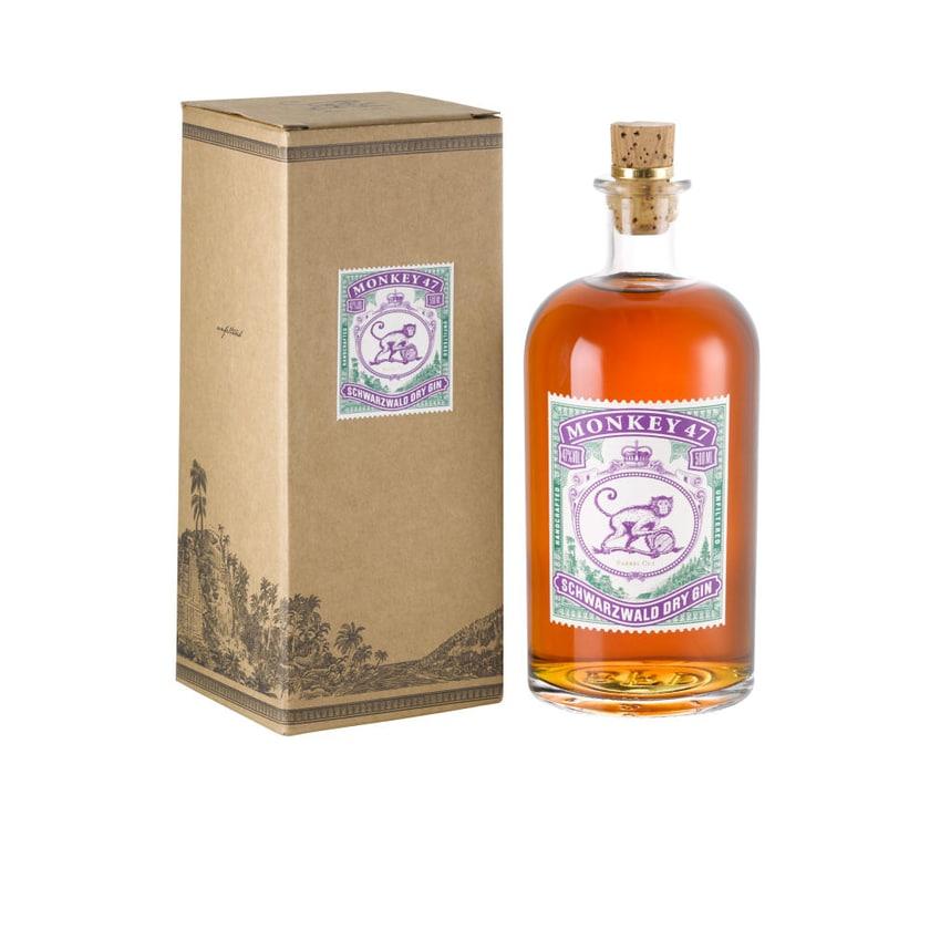 Monkey 47 Barrel Cut Dry Gin in Geschenkbox 47% 500 ml