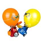 YCOO Robo Kombat Balloon Puncher Blau / Rot