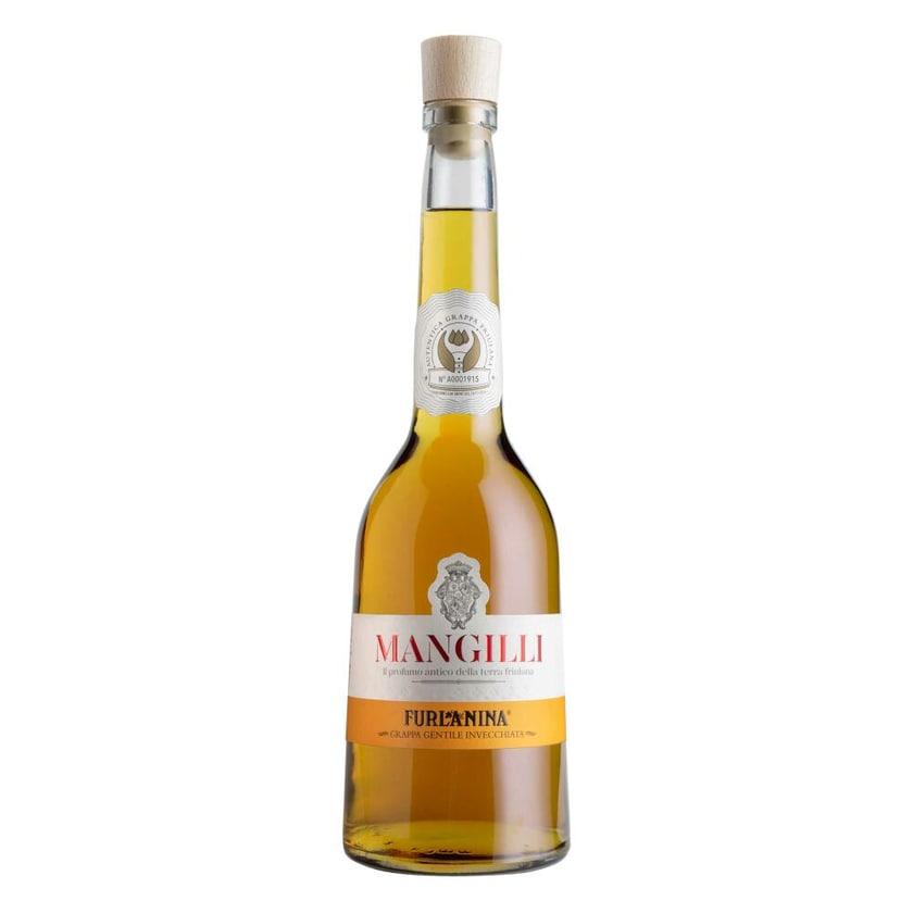 Mangilli Furlanina Grappa Friulana Gentile Invecchiata 42% 700 ml