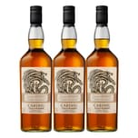 Cardhu Gold Reserve Haus Targaryen Game of Thrones 40% 3x700 ml