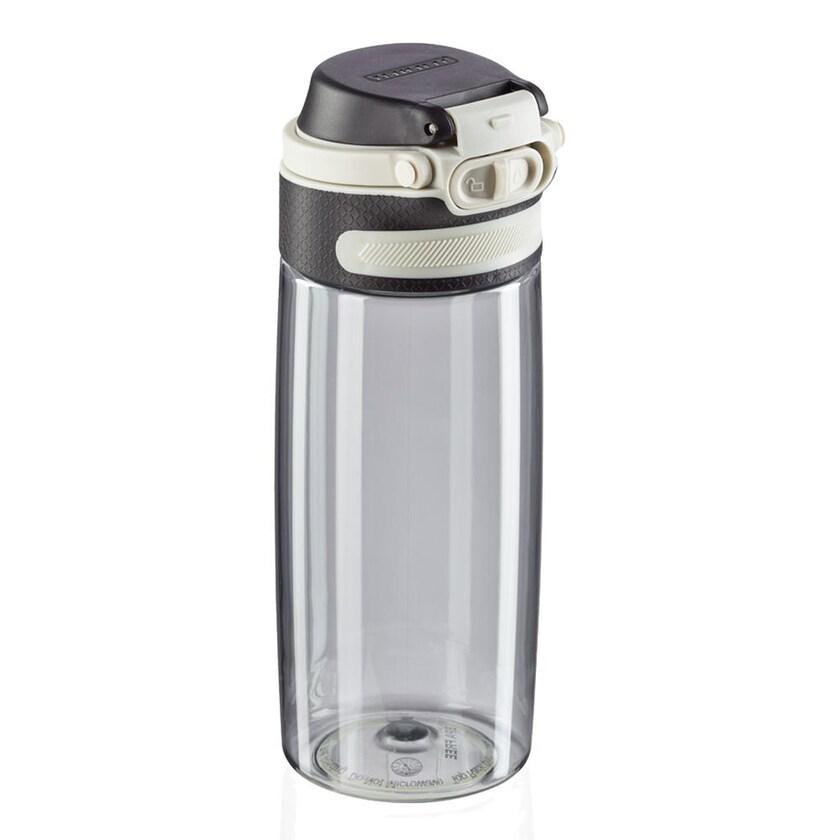 Leifheit Trinkflasche Tritan Flip silver 550 ml