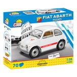 Cobi Bausteinset Youngtimer Collection 1965 Fiat 500 Abarth 595 24524