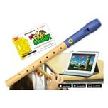 Voggenreiter Flute Master App mit Blockflöte Deutsche Griffweise Holz-Kunststoff
