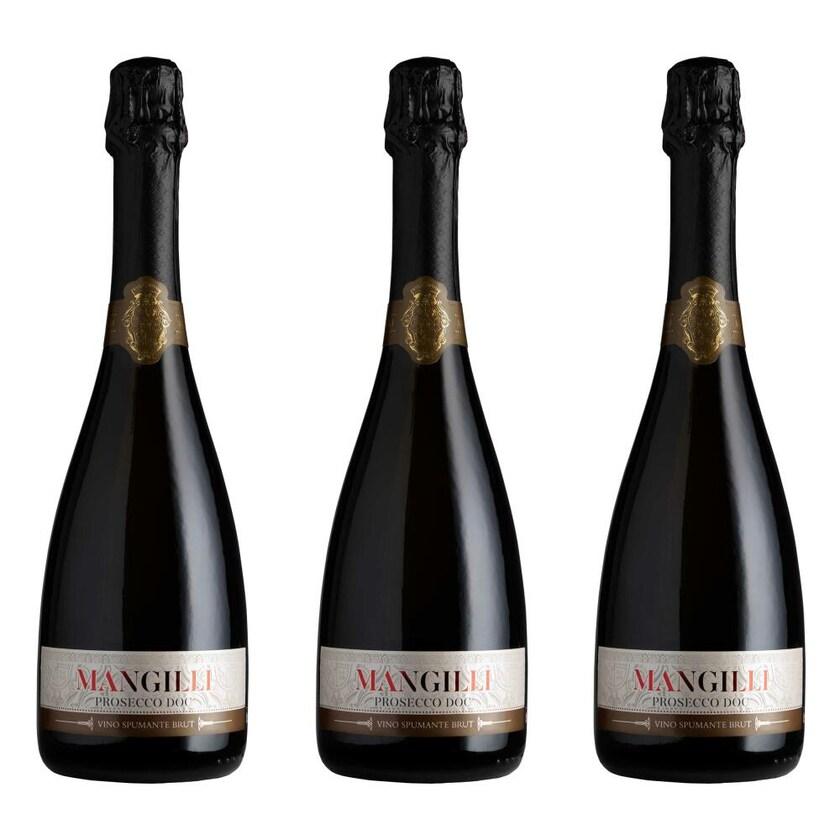 Mangilli Doc Brut Prosecco 11% 3x750 ml