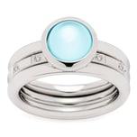 Leonardo Jewels Ring Momento 2er Set Größe 18
