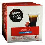 Nescafé Dolce Gusto Caffè Lungo Decaffeinato, 16 Kapseln