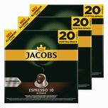 Jacobs Espresso 10 Intenso 3 x 20 Kapseln