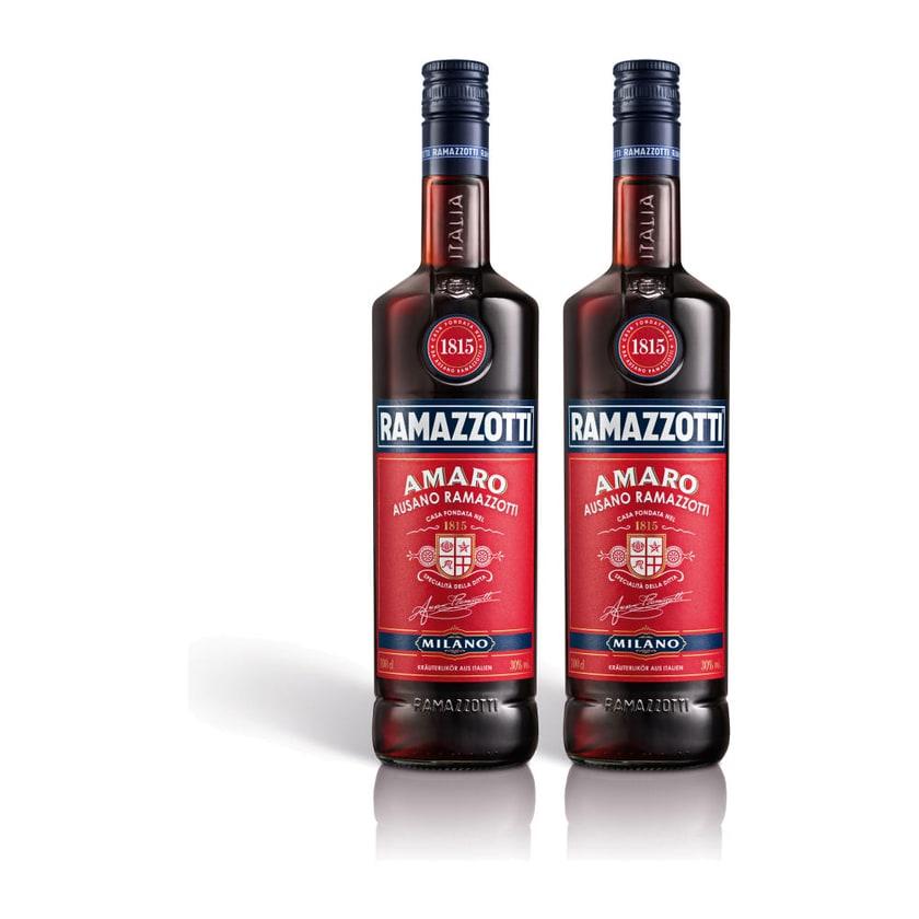 Ramazzotti Amaro Kräuterlikör 30% 2x1 L