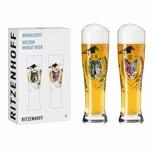 Ritzenhoff Weizenbiergläser Brauchzeit Weizen 2er-Set 002