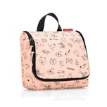 reisenthel toiletbag Kids Cats and Dogs Rose 3 L