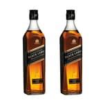 Johnnie Walker Black Label 12Y 40% 2x700 ml