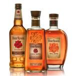 Four Roses Bourbon Sammelset 3 Sorten 2x700 ml + 1 L