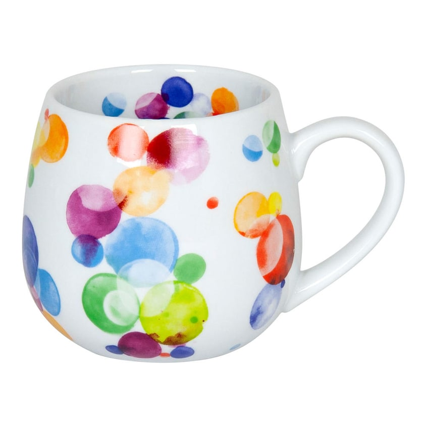 Könitz Colourful Cast Bubbles Kuschelbecher 420 ml