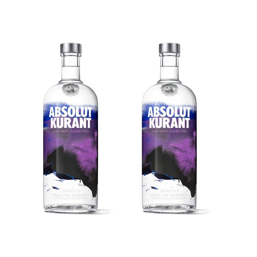 Absolut Vodka Kurant 40% 2x1 L