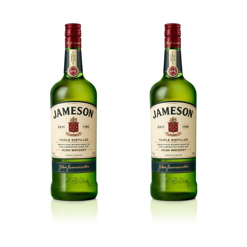 Jameson Irish Whiskey 40% 2x1 L