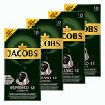 Jacobs Espresso 12 Ristretto 4 x 10 Kapseln