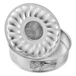 Zenker Springform Ø 26cm Flach- und Rohrboden Silver