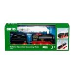 BRIO World Batterie-Dampflok mit Wassertank