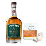 Jameson 18Y Bow Street Set mit Mood Whiskyglas 55.3% 700 ml