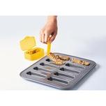 Mastrad Müsliriegel-Form Set mit Spatel und Transportboxen