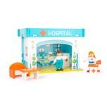 Legler Spielhaus Krankenhaus mit Zubehör