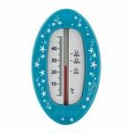 reer Badethermometer Oval Blau