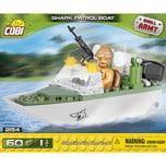 Cobi Bausteinset Small Army Shark Patrol Boat 2154