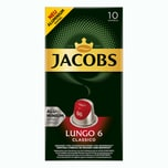 Jacobs Lungo 6 Classico 5 x 10 Kapseln