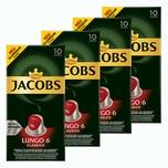 Jacobs Lungo 6 Classico 4 x 10 Kapseln
