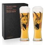 Ritzenhoff Black Label Weizenbierglas-Set Daniel Fatemi 669 ml