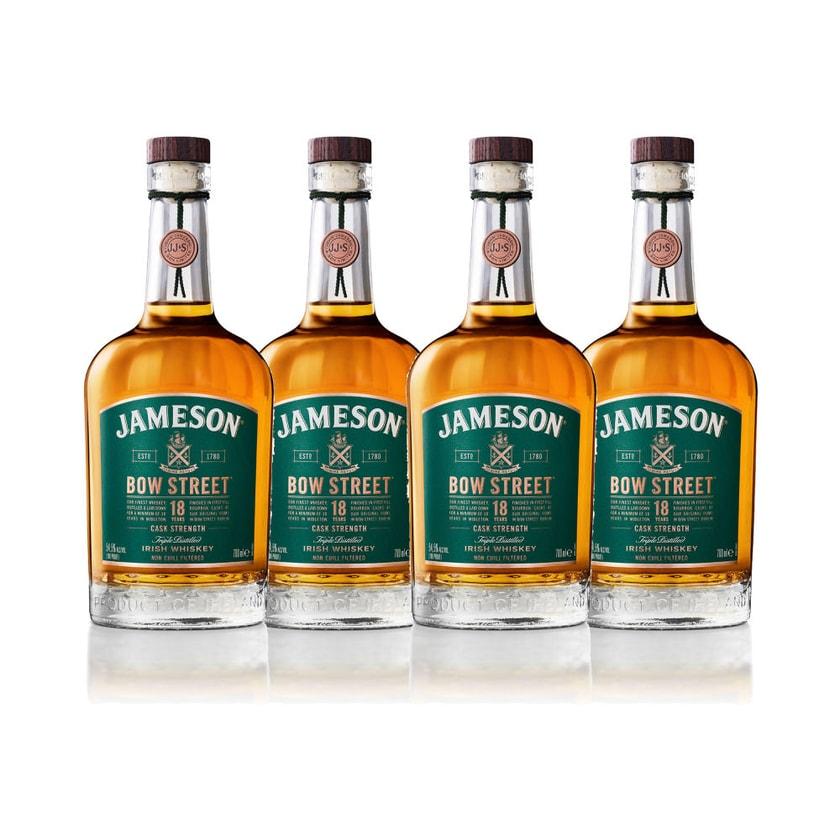 Jameson 18Y Bow Street 55.3% 4x700 ml