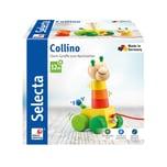 Selecta Spielzeug Collino Nachzieh + Stapel