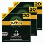 Jacobs Espresso 12 Ristretto 3 x 20 Kapseln