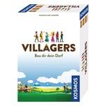 KOSMOS Villagers Mittelalterliches Aufbau-Strategiespiel Dorfgemeinschaft
