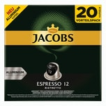 Jacobs Espresso 12 Ristretto 10 x 20 Kapseln