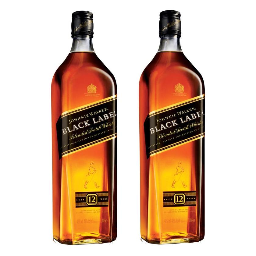 Johnnie Walker Black Label 12 Y 40% 2x1 L