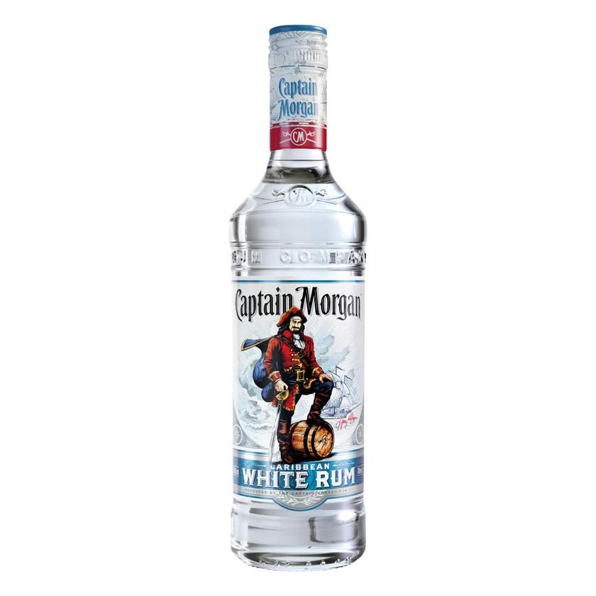 Captain Morgan White Rum 37.5% 6x700 ml