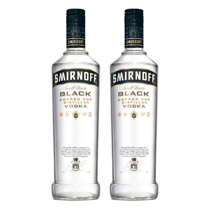 Smirnoff Black No. 55 Vodka 40% 2x700 ml