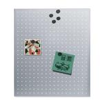 Blomus Magnettafel Muro 60x50 cm Edelstahl matt gelocht