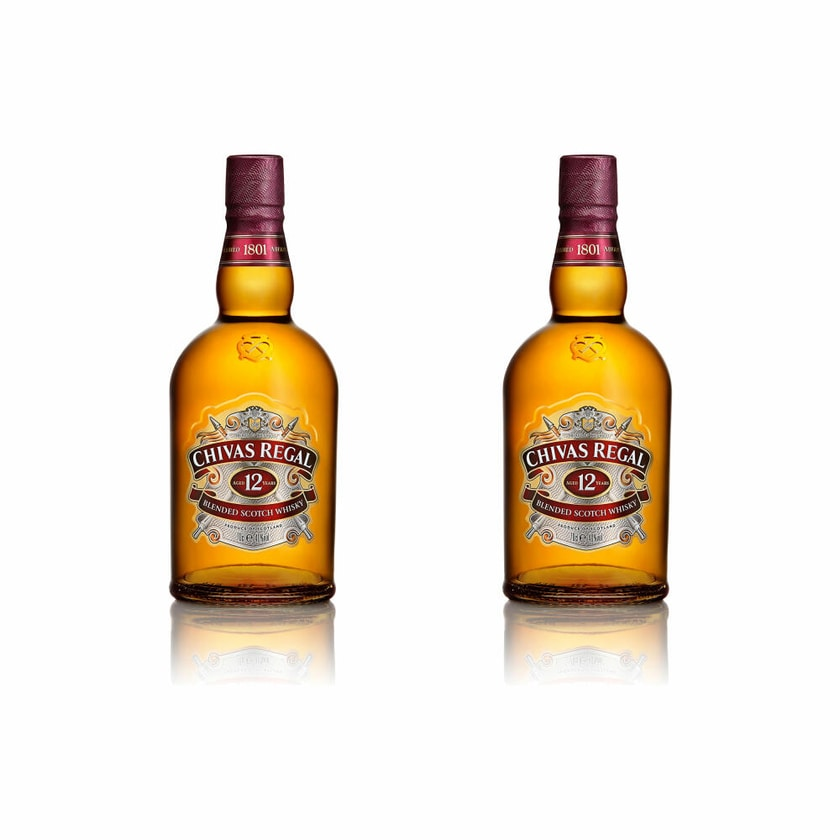 Chivas Regal 12 Jahre Blended Scotch Whisky 40% 2x700 ml