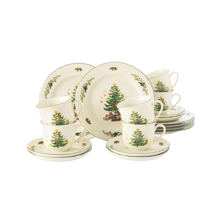 Seltmann Weiden Marieluise Weihnachten Kaffeeservice 18-teilig