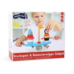 Legler small foot Steckspiel & Balancierwippe Südpol