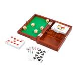 Legler Spielbox Karten und Würfel