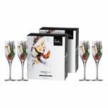 Eisch Champagnerglas 4er Set Superior Sensis plus 278 ml
