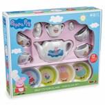 Smoby Peppa Pig Porzellan-Kaffee-Geschirrset 12-tlg.