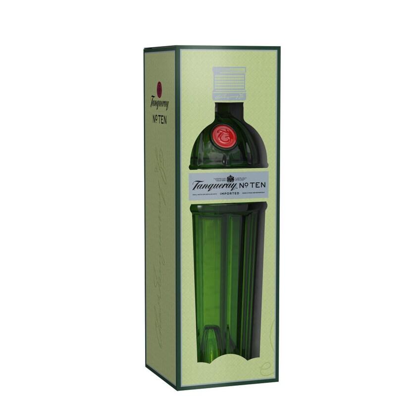 Tanqueray No. Ten in Geschenkverpackung 47.3% 700 ml
